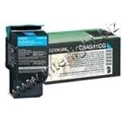 Lexmark C540H4CG Lexmark High Yield Return Program Cyan Toner Cartridge - Laser - 2000 Page - Cyan
