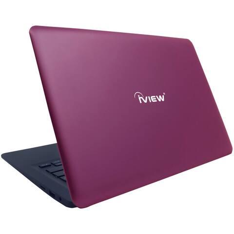 "IVIEW 13.3"" Pink Laptop PC with Intel Atom 2GB RAM 32GB SSD 1330NB (Refurbished)"