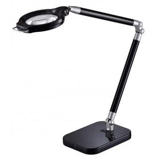 BLACK+DECKER Ultra Reach LED Magnifying Desk Lamp