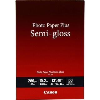 "Canon SG-201 Photo Paper Plus Semi-Gloss 13"" x 19"" (50 Sheets) - White"