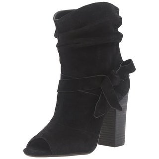 Nine West Womens ronia Open Toe Ankle Fashion Boots