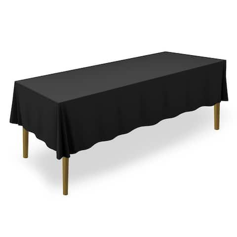 "60 x 102"" 20-Pack, Premium Tablecloths - Black by Lann's Linens"