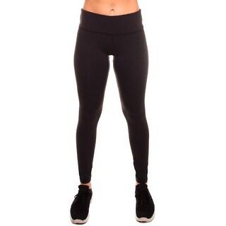Women's Stretch Yoga Running Workout Pants Mid-Waist Leggings w Hidden Pocket
