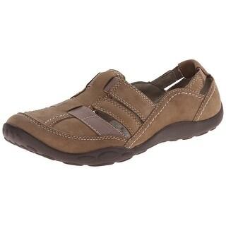 CLARKS Womens Haley Stork Low Top Slip On Walking Shoes