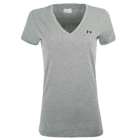 Under Armour Women's Charged Cotton V-Neck T-Shirt