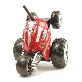 RC Stunt Rumbler Rally Car Red