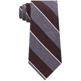 Link to Michael Kors Mens Neck Tie Silk Striped - O/S Similar Items in Ties