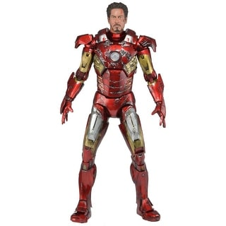 Avengers 1:4 Scale Iron Man Battle Damaged Figure - multi