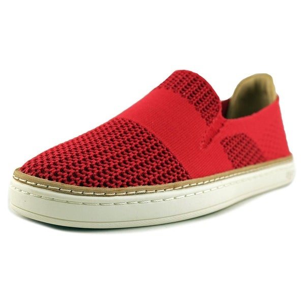 2db636976b0 Shop UGG Sammy Women Round Toe Canvas Red Loafer - Free Shipping ...