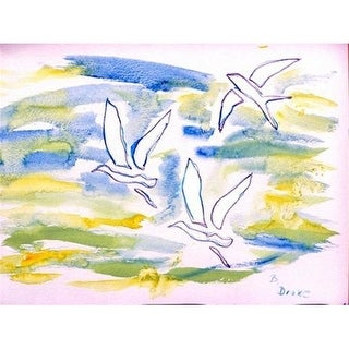Betsy Drake DM941 Three Gulls Doormat 18 x 26
