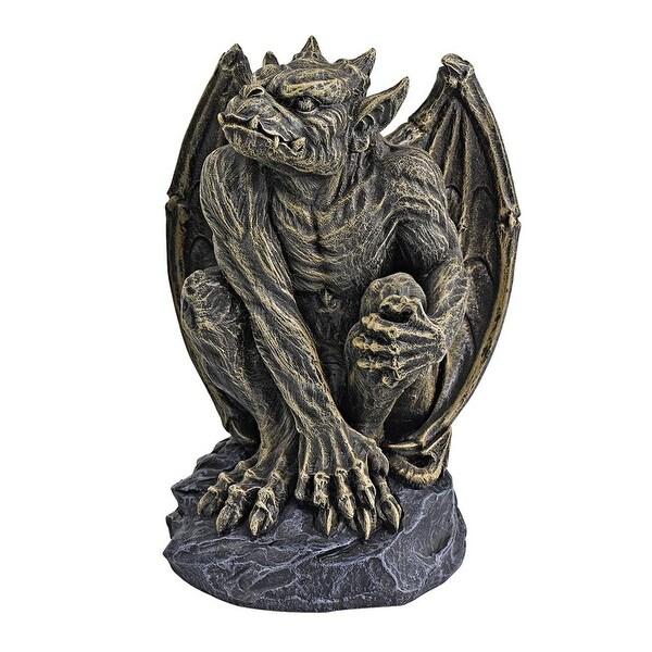 Design Toscano Halloween Silas the Gargoyle Sentry Statue: Medium
