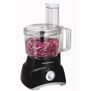 Hamilton Beach 70740 Top Mount Food Processor, 450 Watt, Black