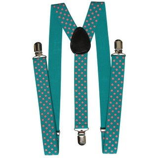 Polka Dot Suspender One Clip - One size