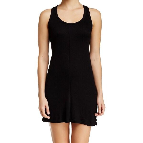 Free People NEW Black Women\'s Size XS Slip Slinky Tank Sleepwear ...