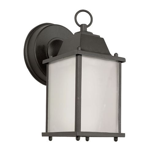 Trans Globe Lighting PL-40455 Purisima Mission 1 Light Fluorescent Lantern Outdoor Wall Sconce