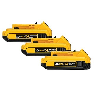 Battery for DEWALT DCB203 (3-Pack) Replacement Battery