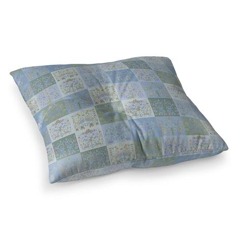 SCANDINAVIAN PATCHWORK PASTEL Floor Pillow by Kavka Designs