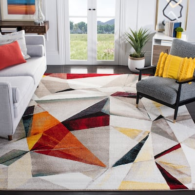 SAFAVIEH Porcello Thinh Mid-Century Modern Abstract Rug