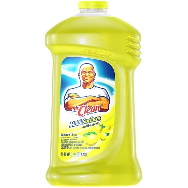 Mr. Clean Antibacterial Multi-Surface Cleaner, Summer Citrus 40 oz