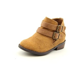 Madden Girl Kest Round Toe Canvas Ankle Boot