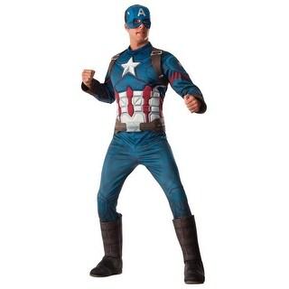 Marvel RU810967 Ca3 Captain America Adult Standard Costume