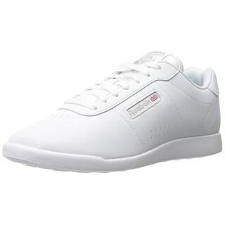 Reebok Women's Princess Lite Classic Shoe, White/Wide