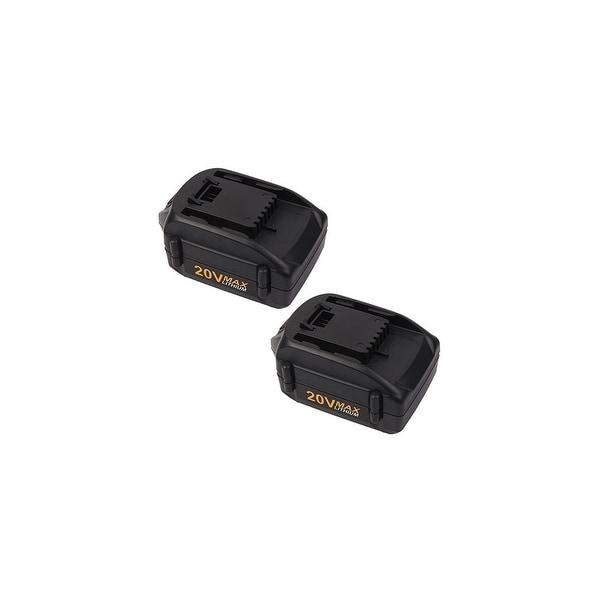 20V 4.0Ah Battery for Worx WA3578 WA3520 WA3525 WA3575 WG151 WG155 (2 Pack)