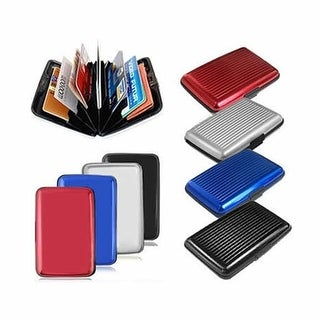 Rfid Blocker Credit Card Wallet And Organizer