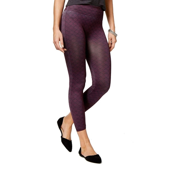 fc0c3a35b976cc Shop Hue First Look Seamless Skimmer Leggings Pants - Free Shipping On  Orders Over $45 - Overstock - 25722968