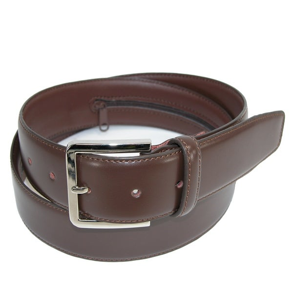 CTM® Men's Leather Travel Money Belt (Large Sizes Available)