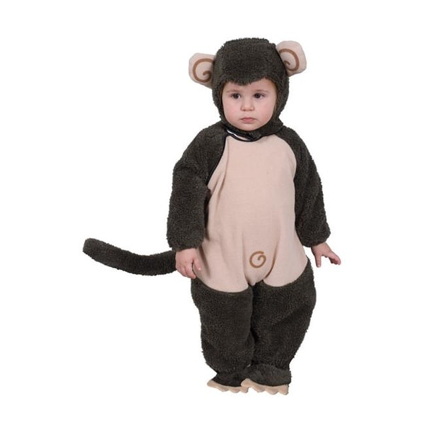 85fdb525a62 Shop Dress Up America 565-T2 Plush Lil Monkey - Size Toddler 2 - Free  Shipping On Orders Over  45 - Overstock - 22929255