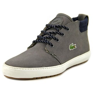 Lacoste Ampthill Terra Men  Round Toe Leather Gray Chukka Boot