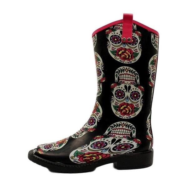 Blazin Roxx Western Outdoor Boots Women Gwen WP Square Toe Multi