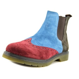 Be Negative Modello Men Round Toe Leather Multi Color Ankle Boot