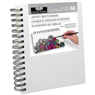 "Essentials(Tm) Canvas Cover Sketchbook 4.1""X5.8""-"