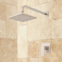 Signature Hardware 934428 Ryle Pressure Balanced Shower System with Shower Head, Shower Arm, and Valve Trim - Rough In Included