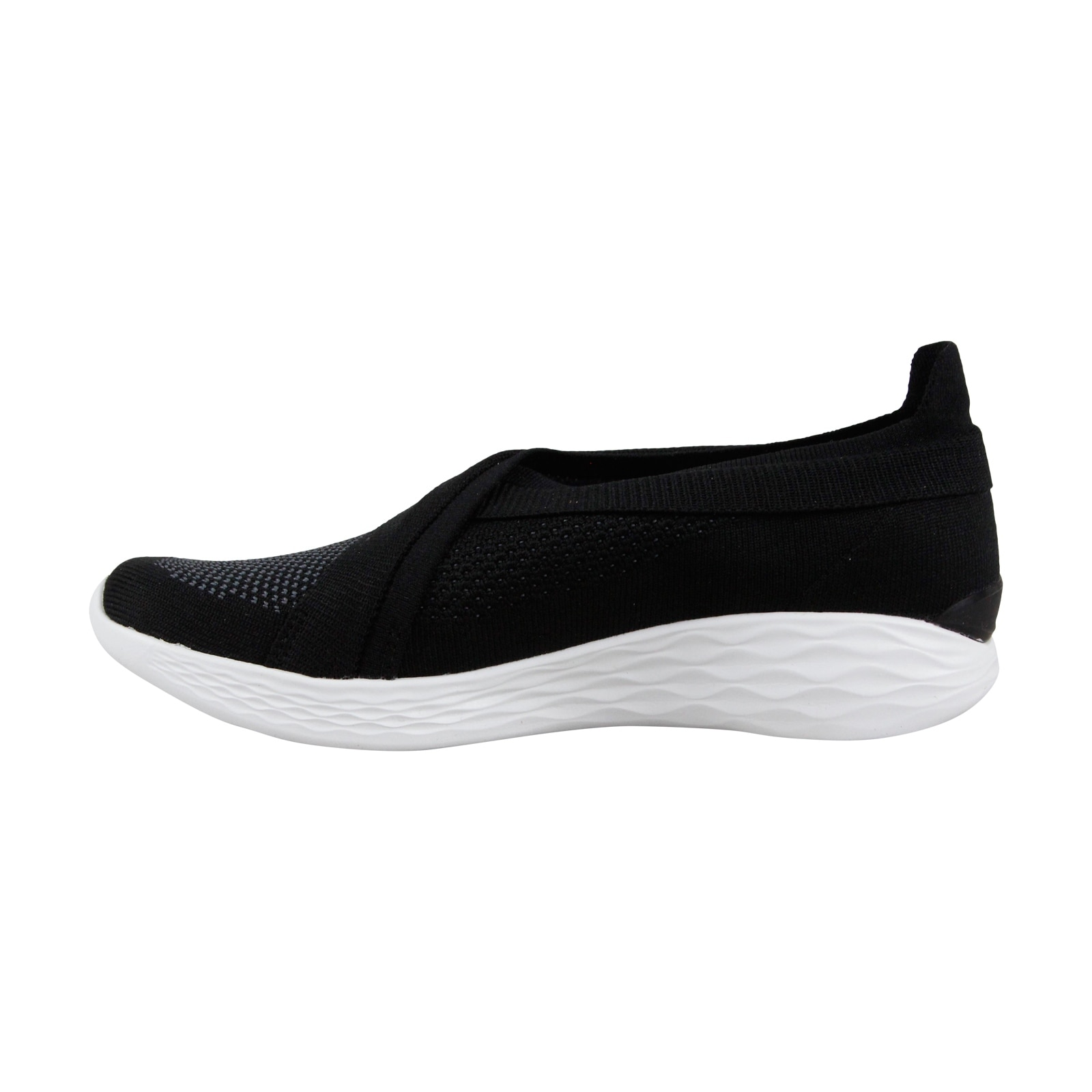 Black Slip Womens Running Skechers Athletic You Luxe On Textile rBoxWdeC