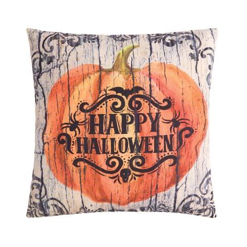 Halloween Pumpkin Indoor/Outdoor Pillow