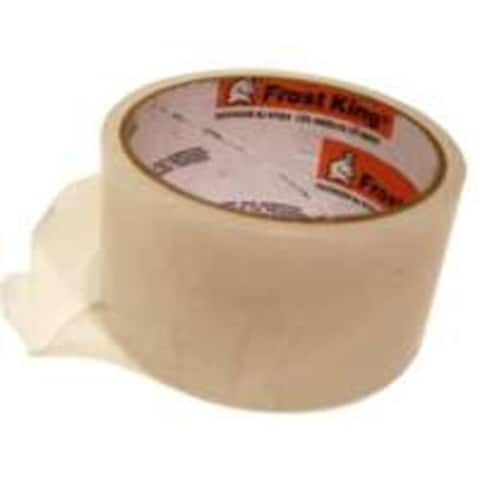 """Frost King T94H Plastic Weatherseal Tape 2"""" x 25', Clear"""