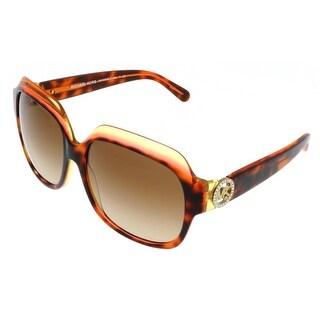 Michael Kors MK6002B CRETE 300413 Tortoise/Pink Square Sunglasses