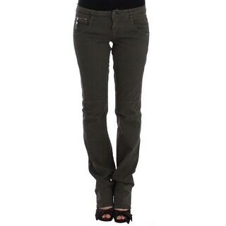 Costume National Green slim leg jeans - w29