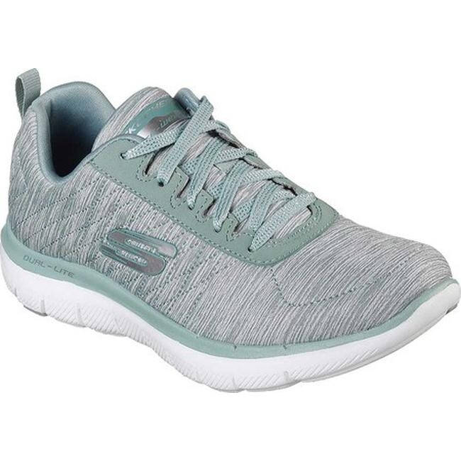 Skechers Women's Flex Appeal 2.0 Training Sneaker Sage