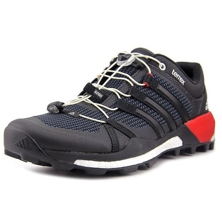 Adidas Terrex Skychaser Men Round Toe Synthetic Black Trail Running