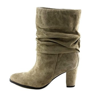 Ivanka Trump Womens Jalli Tausu Almond Toe Mid-Calf Fashion Boots