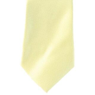 Alfani Spectrum NEW Lemon Yellow Mens One Size Textured Prom Neck Tie