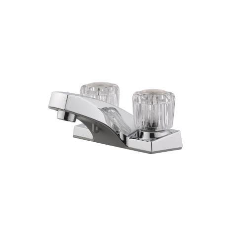 Design House 547380 Millbridge 1.2 GPM Centerset Bathroom Faucet - Polished Chrome