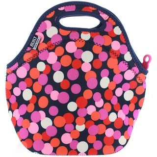 BUILT NY Gourmet Getaway Neoprene Lunch Tote - Dot Candy Navy