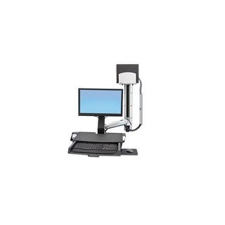 Ergotron 45-270-026 Styleview Sit-Stand Combo System, Worksurface