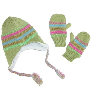 CTM® Toddler's Hat and Mitten Winter Set