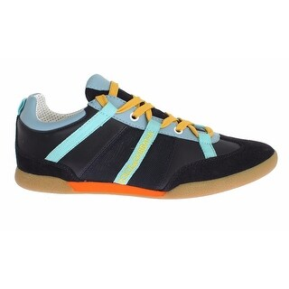 Dolce & Gabbana Multicolor Leather Casual Sneakers Shoes - 40